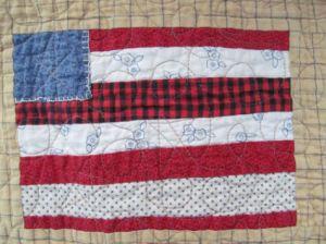 Flag Quilt Block 1
